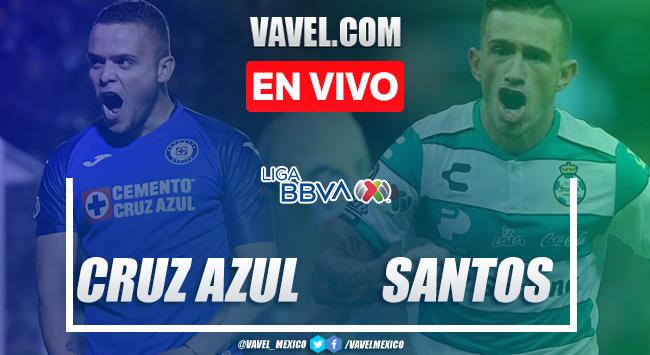 Goles y resumen: Cruz Azul 3-0 Santos Laguna en Liga MX 2020