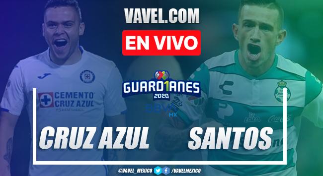 Cruz Azul 2-0 Santos: goles y resumen Liga MX 2020