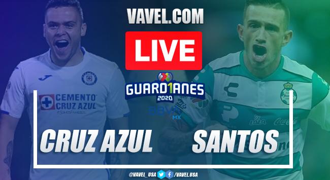 Goals and Highlights: Cruz Azul 2-0 Santos, 2020 Liga MX