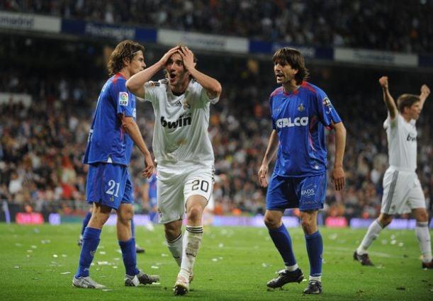 Getafe Real Madrid 0 3: Real Madrid 3-2 Getafe, 2008/09: Pepe, Casquero Y