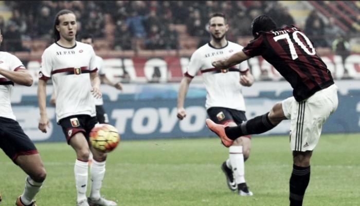Risultato finale Genoa - Milan in Serie A 2016/17 (3-0): Serata da dimenticare per il Milan