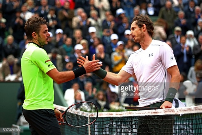 Wawrinka believes Murray merits his number one ranking
