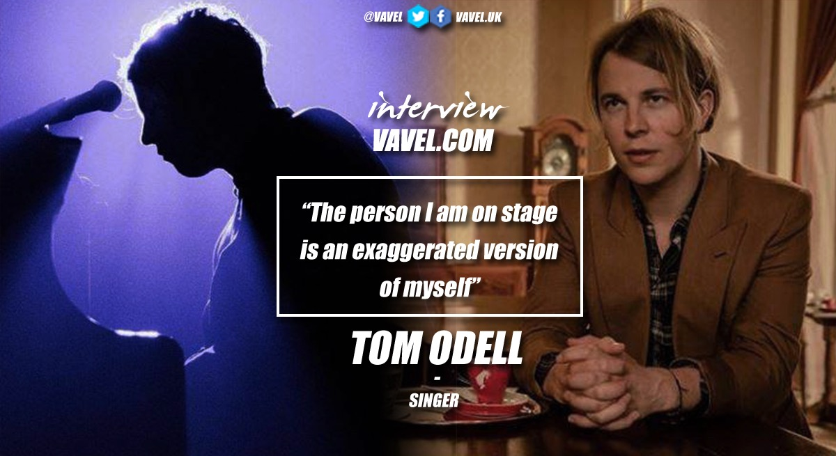 "Tom Odell: ""The person I am on stage is an exaggerated version of myself"""