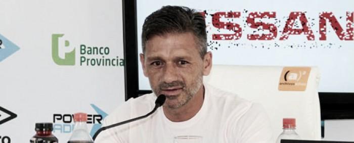 """Nelson Vivas: """"Si nos toca perder, vamos a quedar relegados"""""""