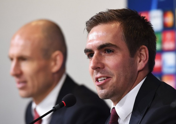 La strada per Juve - Bayern: Lahm e Robben in conferenza stampa