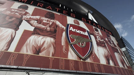 Exterior del Emirates Stadium // Arsenal