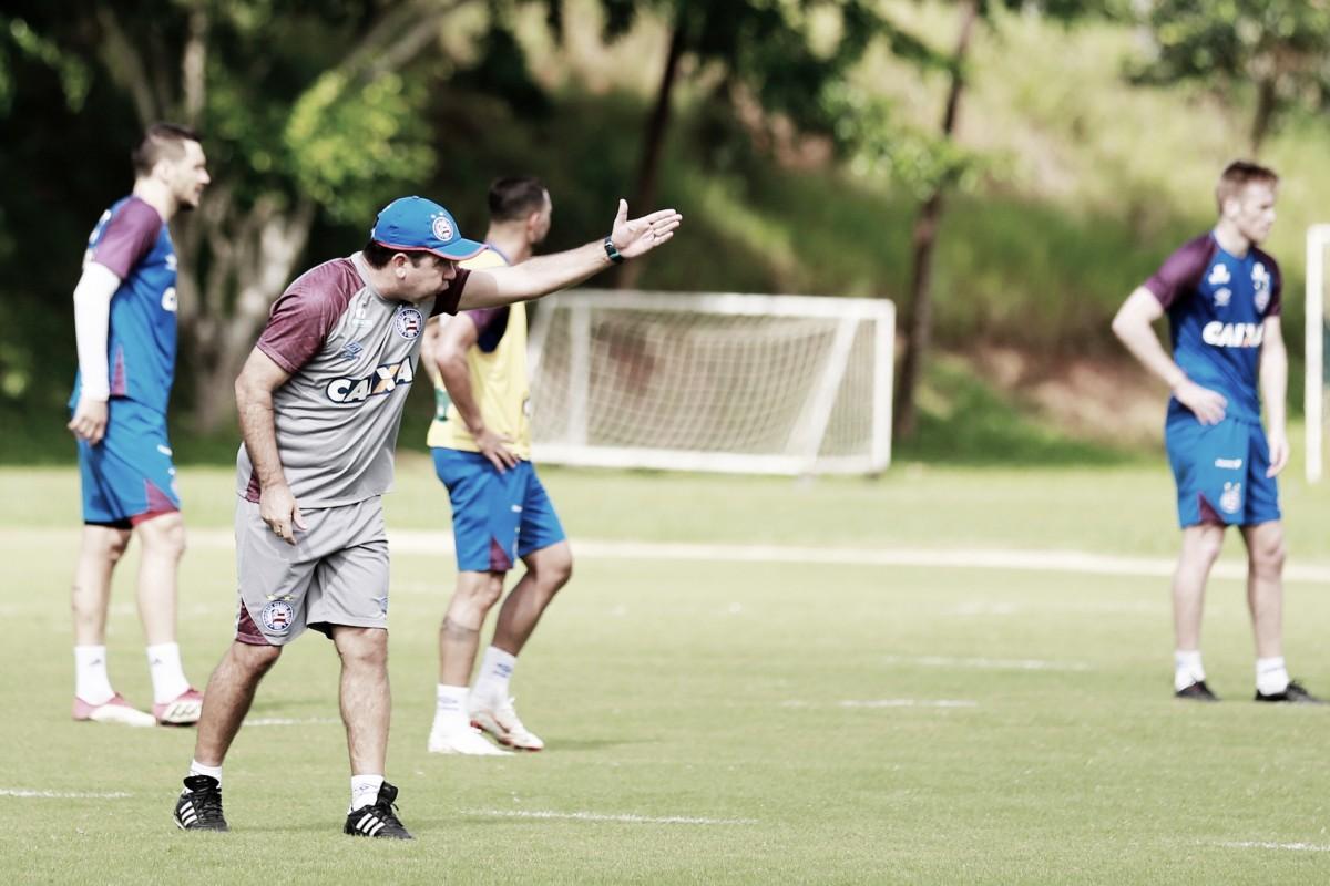 """Enderson Moreira pede apoio da torcida do Bahia para decisão em casa: """"Jogar junto"""""""