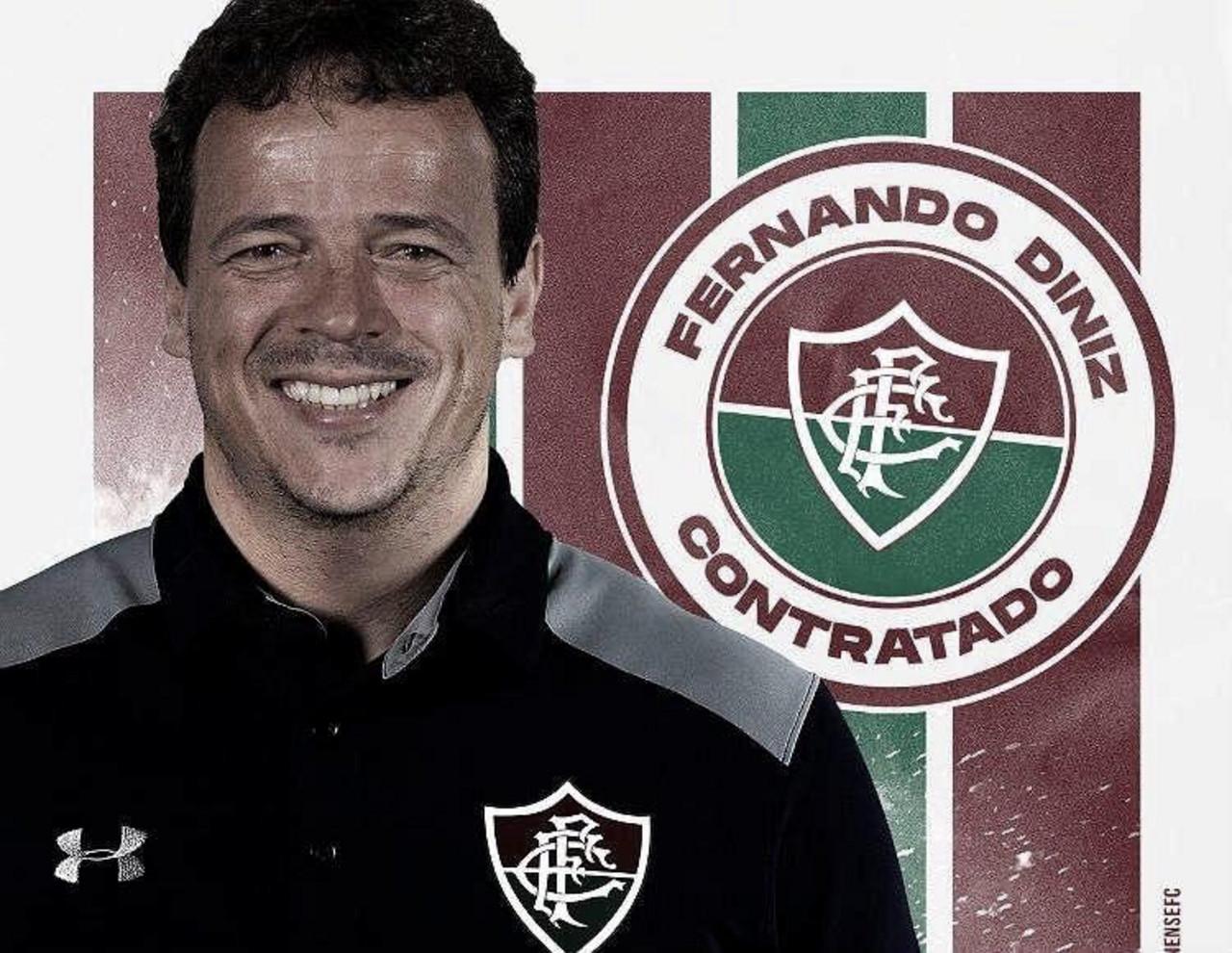 Veja a entrevista coletiva de apresentação de Fernando Diniz no Fluminense