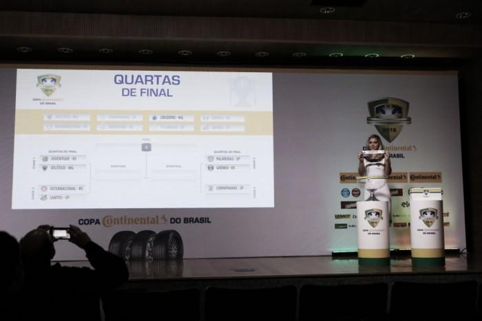 Quartas de final da Copa do Brasil é definida sem clássicos estaduais