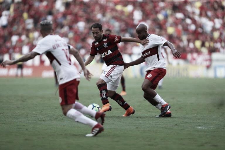Resultado Internacional x Flamengo pelo Campeonato Brasileiro 2019 (2-1)