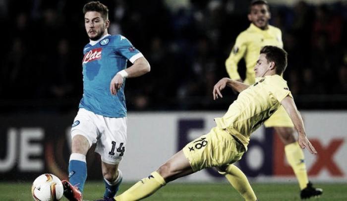 Europa League - Napoli bello ma non balla: è 1-0 per il Villarreal