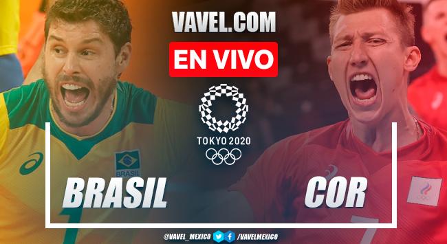Resumen: Brasil 1-3 Rusia en Semifinales de Voleibol Masculino por Juegos Olímpicos 2020