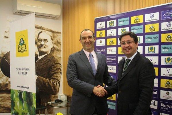 Blancos de Rueda renueva su patrocinio con el Club Baloncesto Valladolid