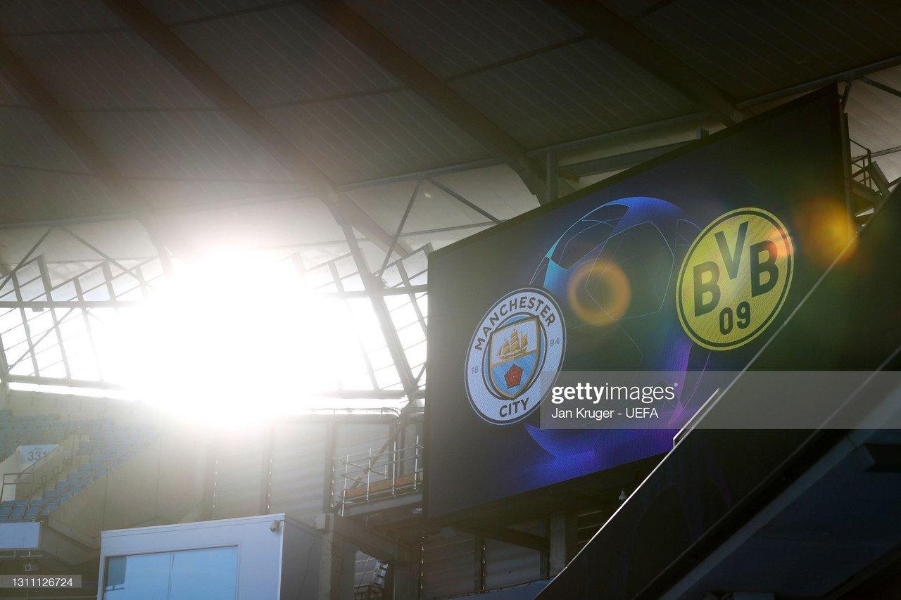 Manchester City vs Borussia Dortmund: Live Stream TV ...