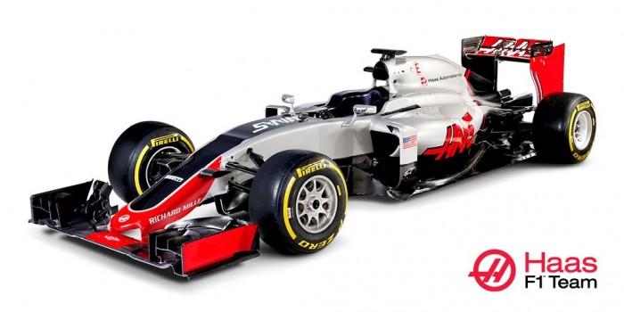 Haas presenta el 'VF-16', su primer coche en la Fórmula 1