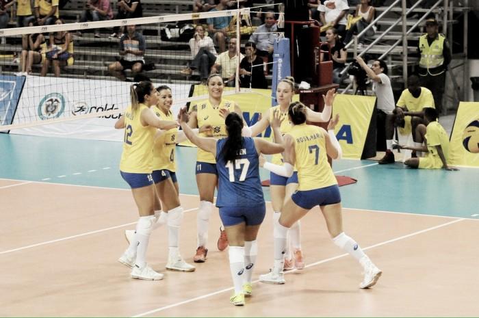 Brasil vence Peru e pode levar Sul-Americano se bater Colômbia