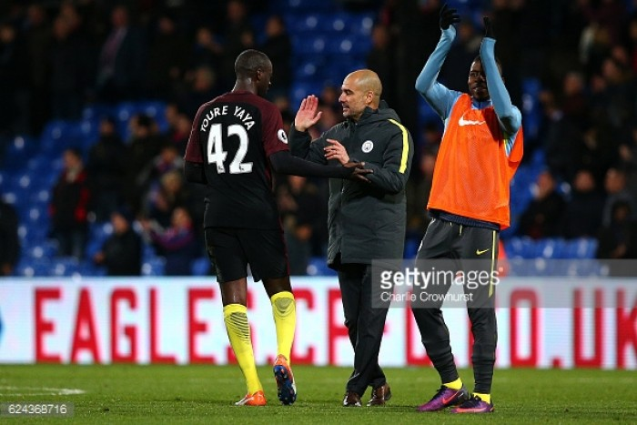 Pep Guardiola: 'Yaya Toure has been amazing'