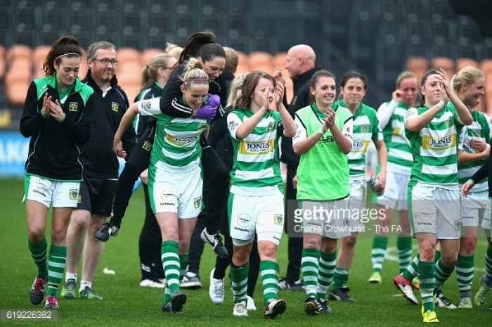 WSL 2 - Matchday 18 round-up: Yeovil are champions