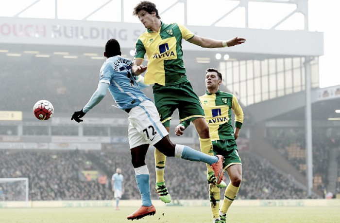Norwich City 0-0 Manchester City: Canaries stifle title-chasing Citizens in tense goalless draw