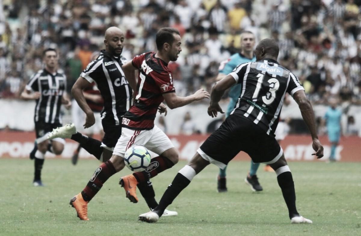 Flamengo recebe Ceará no Maracanã visando reaproximação da liderança do Brasileiro