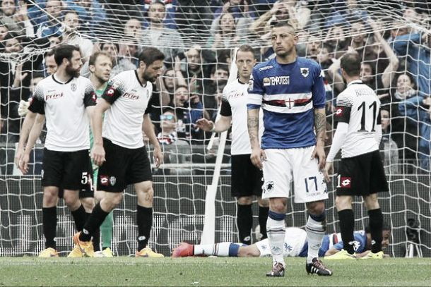 Il Cesena ferma la Sampdoria. Finisce 0-0 a Marassi