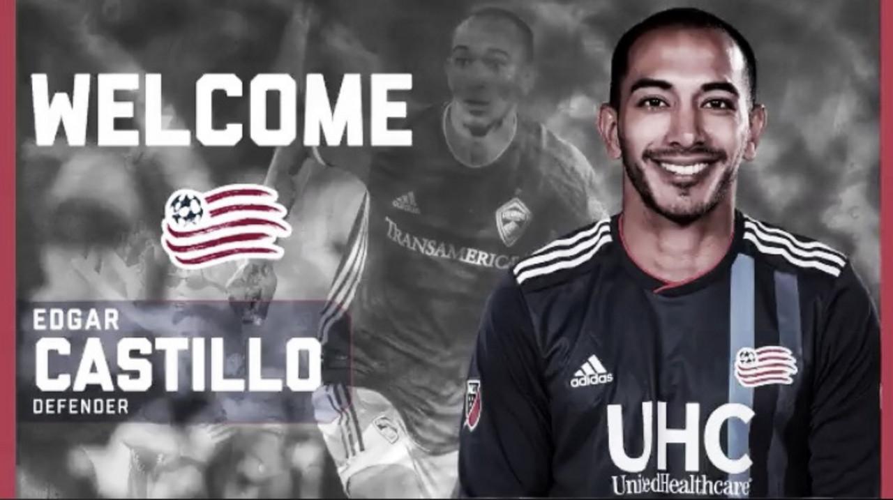 Castillo firma a New England