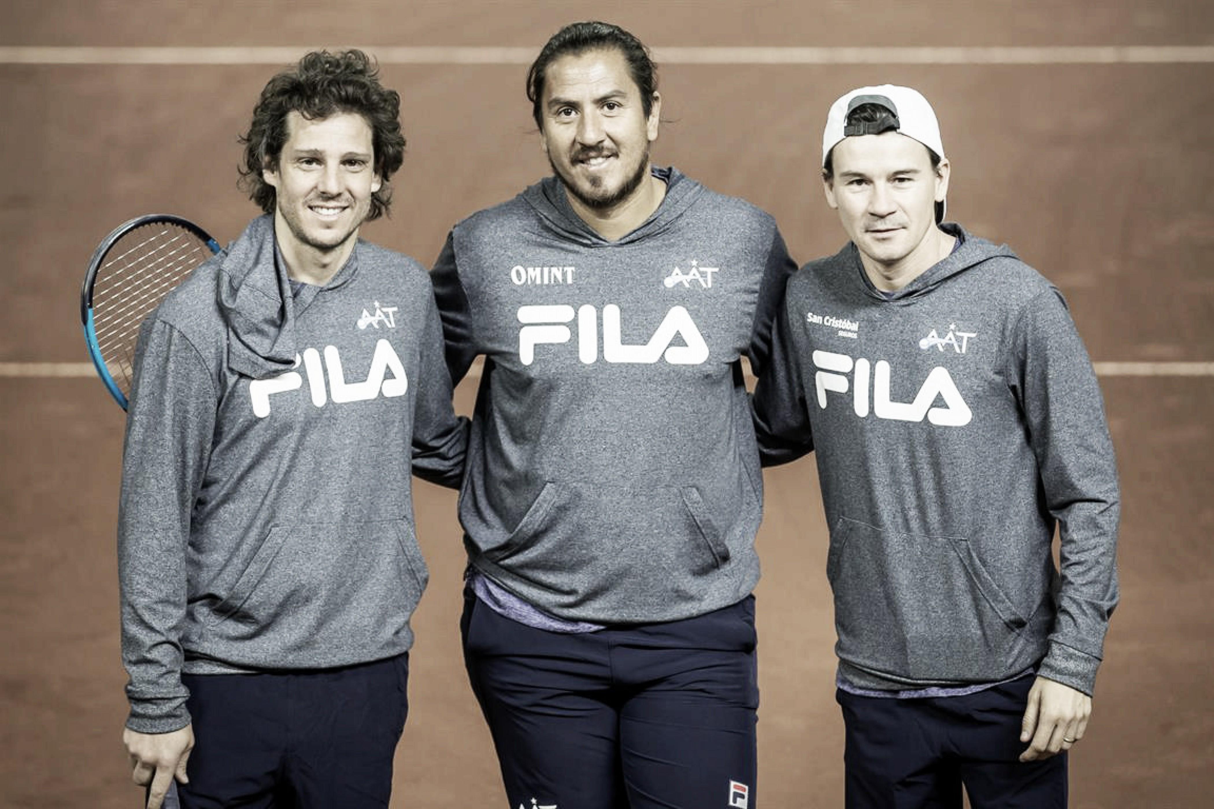 Copa Davis: Coria, Gaudio y Cañas, los capitanes argentinos