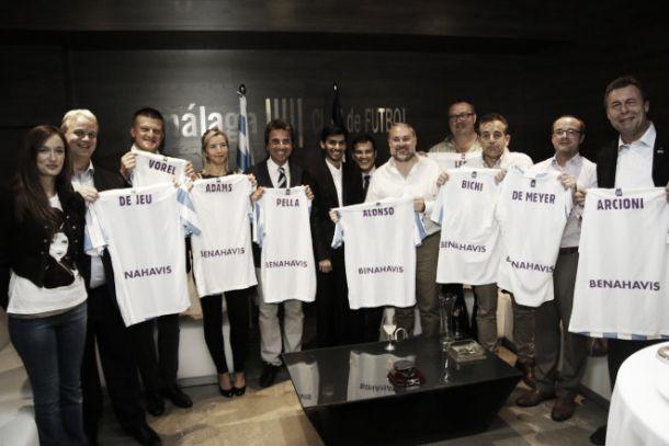 El Málaga CF, con la candidatura a Capital Europea del Deporte 2019