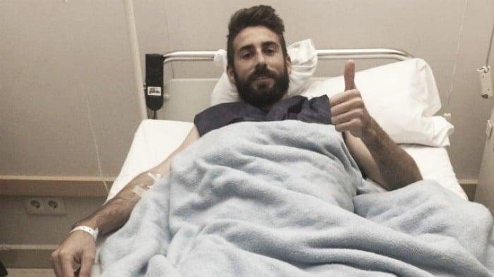 José Mari, operado con éxito de su hernia inguinal