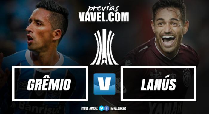 Na Arena, Grêmio recebe Lanús em primeiro duelo da final da Copa Libertadores