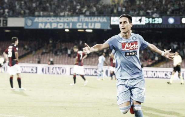 Risultato finale Bologna - Napoli in serie A 2015/2016 (3-2): Colpo Bologna, il Napoli cade