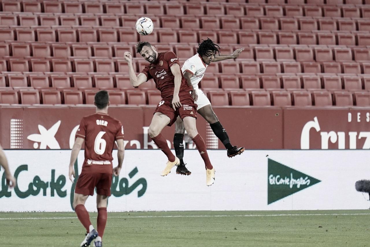 Sevilla FC - Osasuna: puntuaciones del Sevilla FC, 9ª Jornada de LaLiga