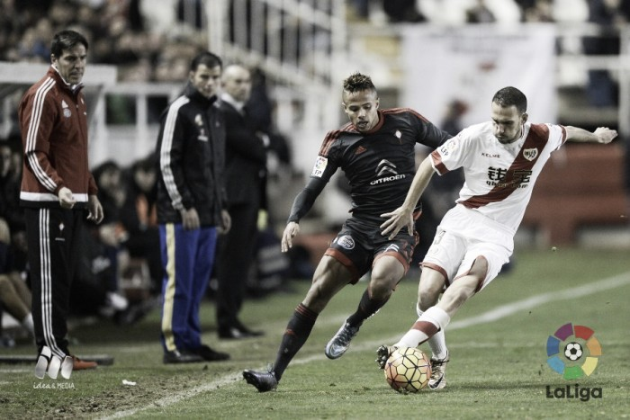Rayo Vallecano - Celta, puntuaciones del Celta, jornada 21 de la Liga BBVA