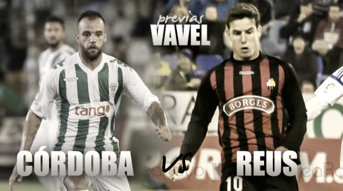 Córdoba CF - Reus: a cinco finales de la salvación