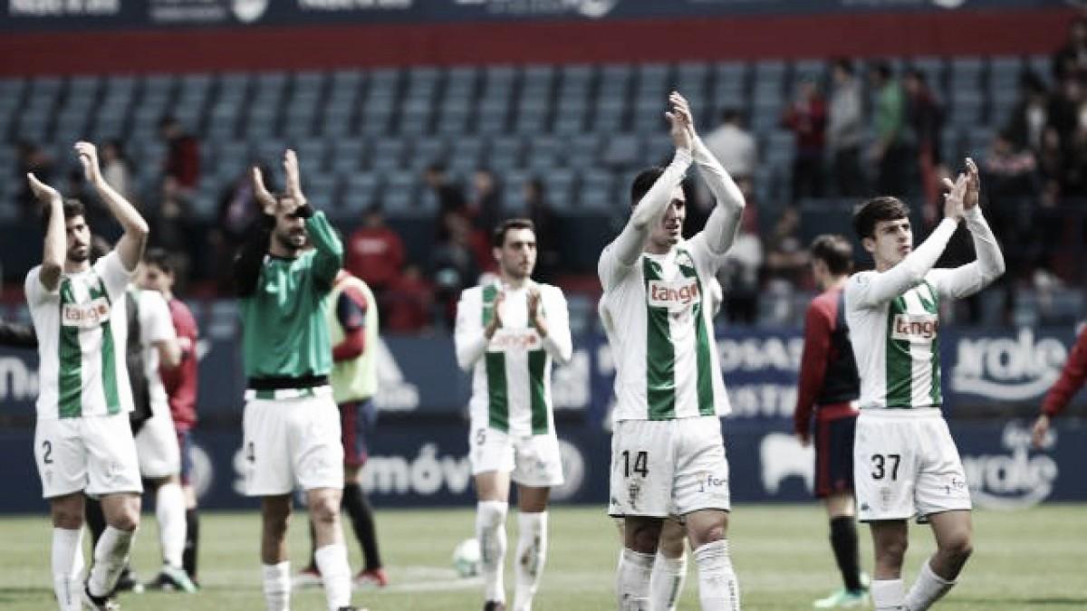 Un serio Córdoba saca un punto en Pamplona