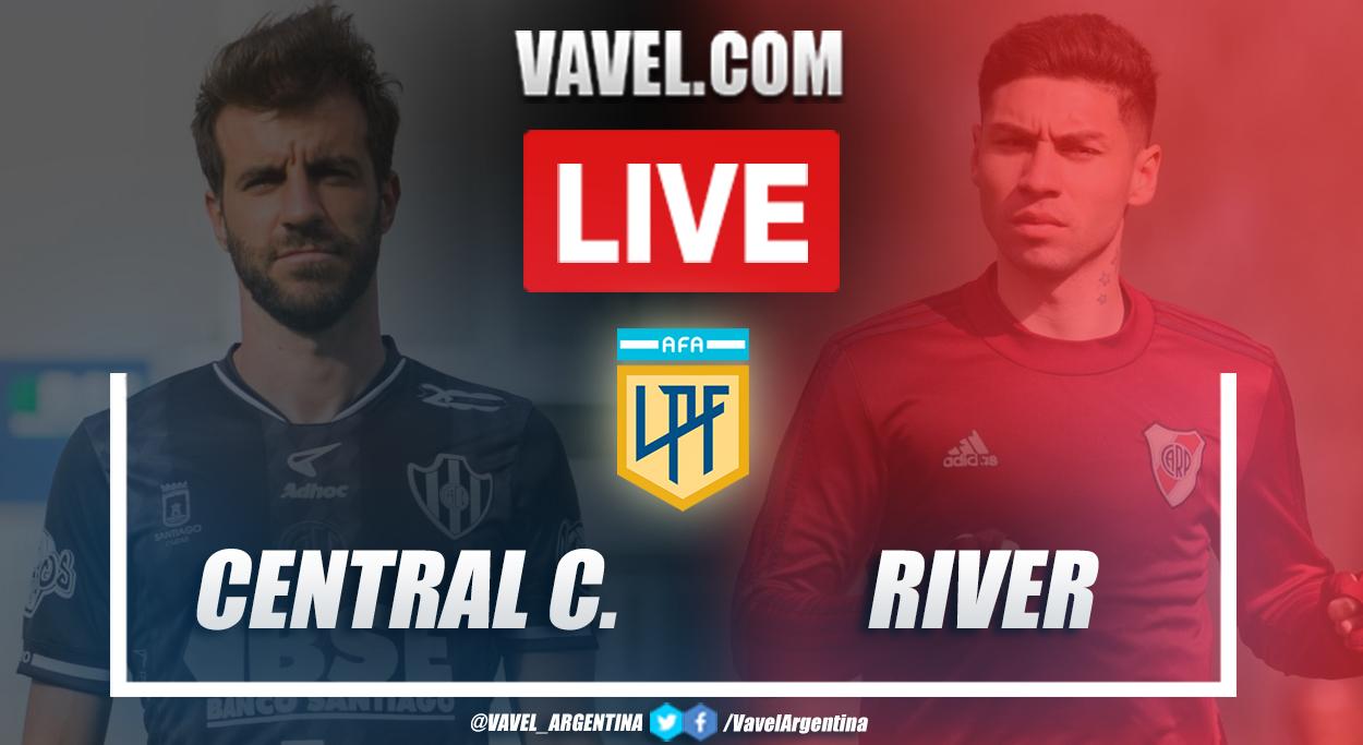 Resumen Central Córdoba vs River (0-5) en la fecha 10 por Copa de la Liga Profesional 2021