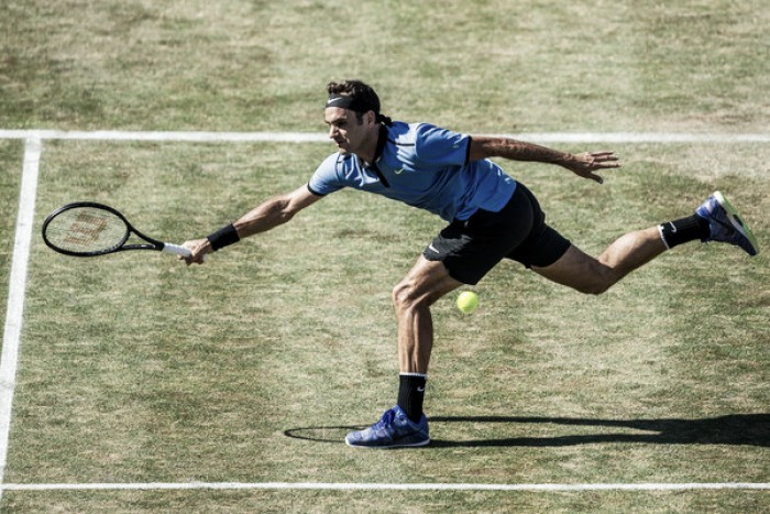 "Roger Federer says he is ""completely on track"" ahead of Wimbledon"