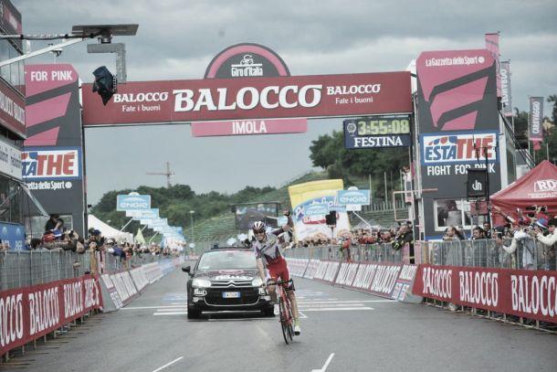 Giro d'Italia, undicesima tappa: capolavoro di Zakarin, Contador controlla