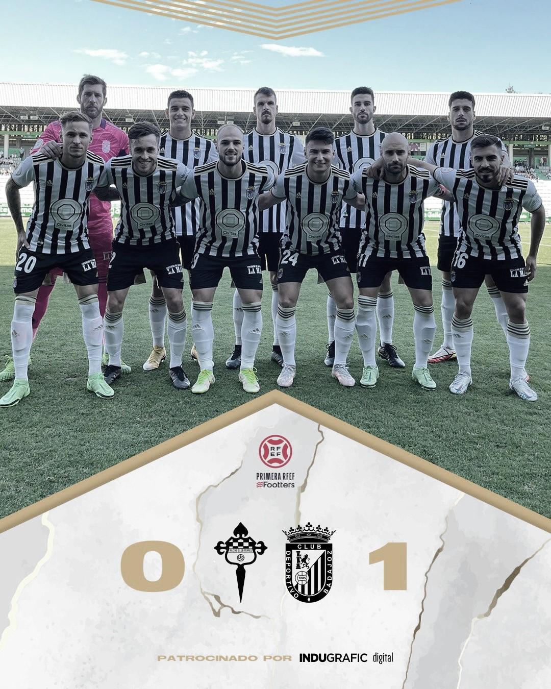 El CD Badajoz no desaprovecha una oportunidad de oro