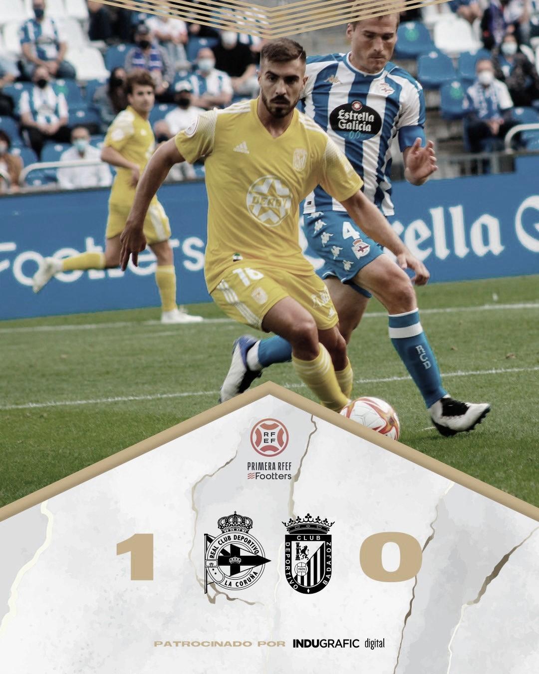 El CD Badajoz no logra su recompensa
