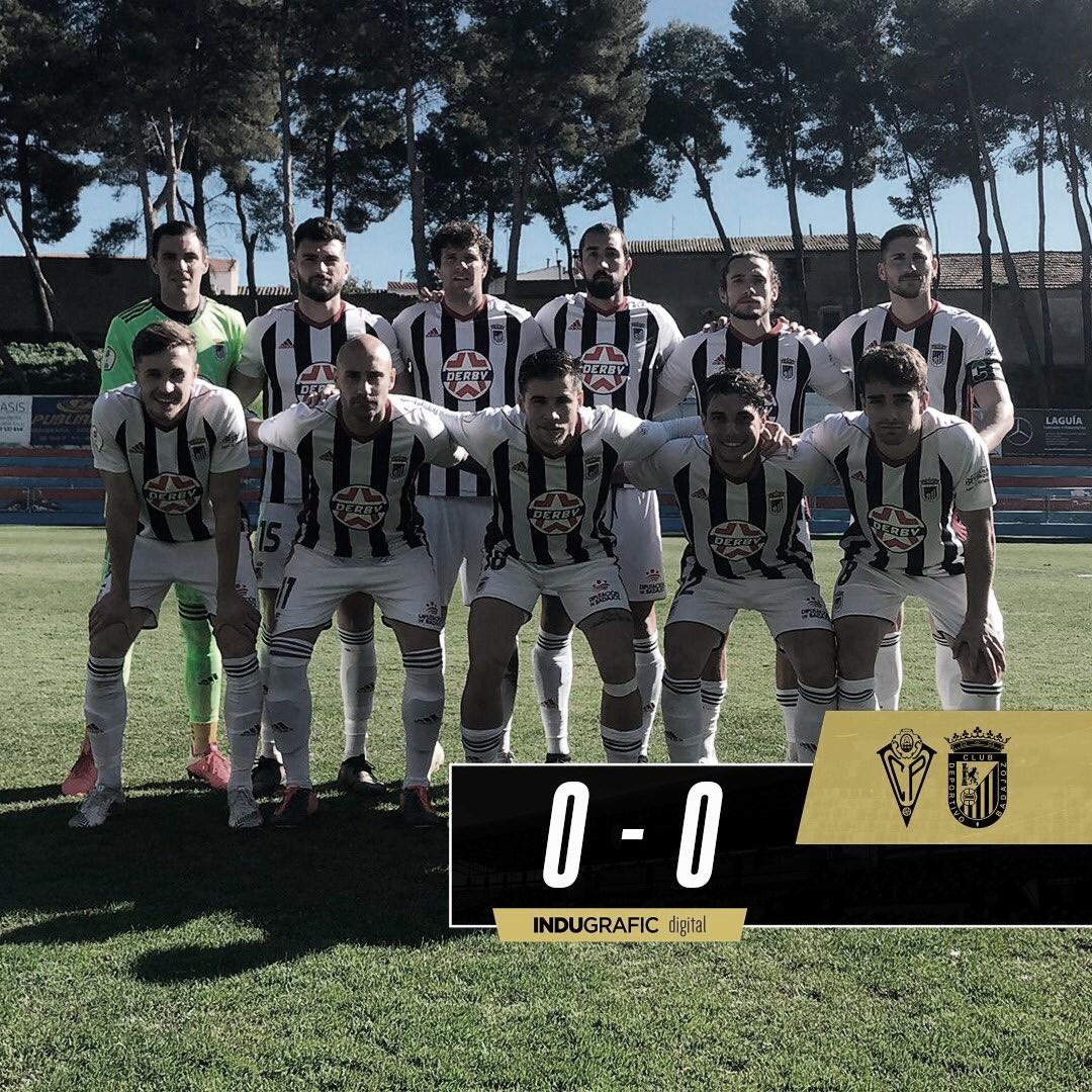 El CD Badajoz perdona y suma solo un punto