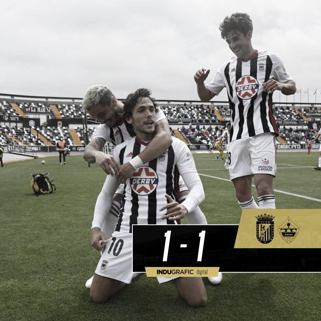 El CD Badajoz acaba la fase regular como mejor equipo de Segunda B