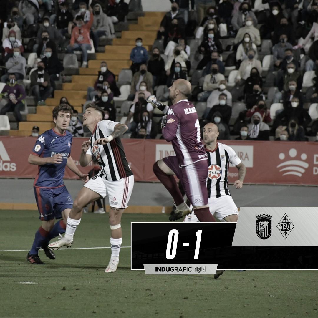 El CD Badajoz se queda otra vez a las puertas de Segunda División