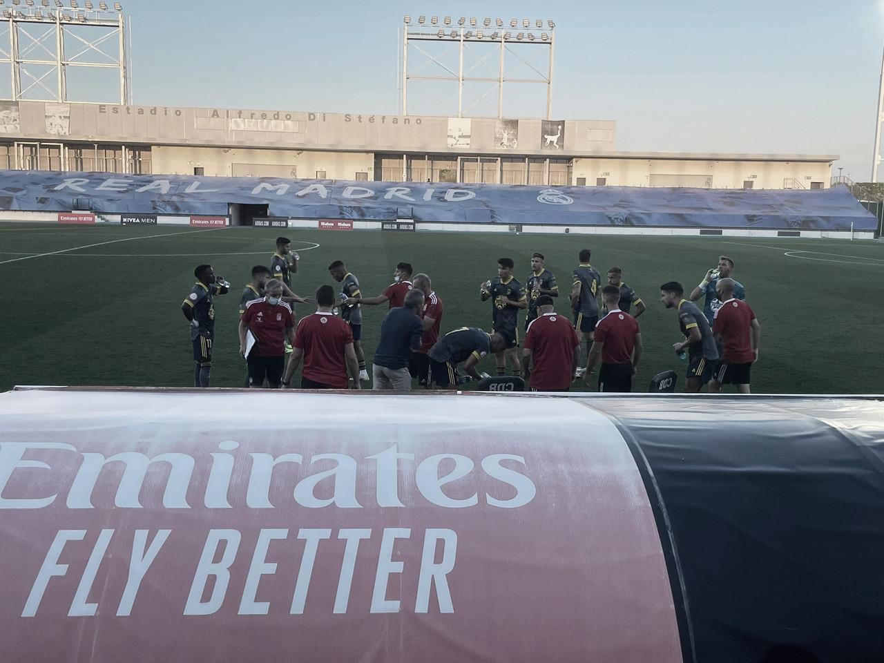 Un sólido y trabajado CD Badajoz empata ante el Real Madrid Castilla
