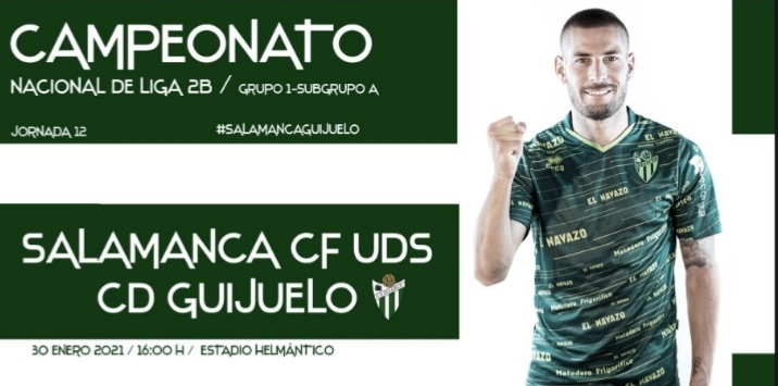 El Guijuelo da negativo en las pruebas PCR y jugará ante el Salamanca CF