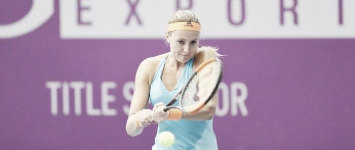 WTA St. Petersburg: Kristina Mladenovic overcomes Elise Mertens in straight sets
