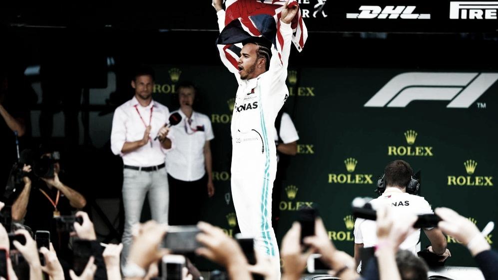 Hamilton vence GP da Inglaterra e chega em sua 80ª vitória na Fórmula 1