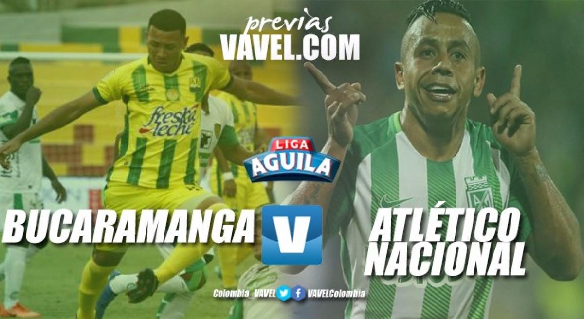 Previa Atlético Bucaramanga vs. Atlético Nacional: tres puntos para necesidades diferentes