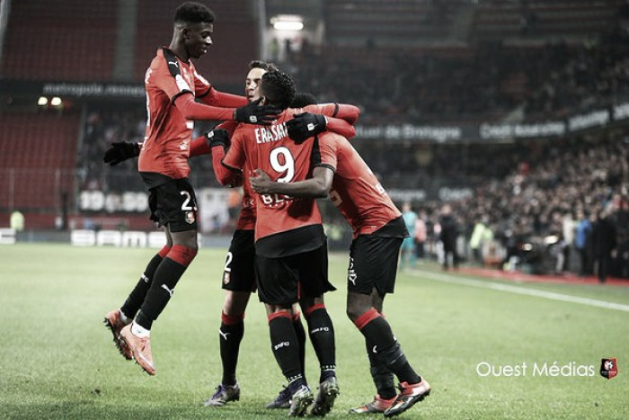 Rennes 2-2 Lyon: Late fightback for the hosts results in stalemate