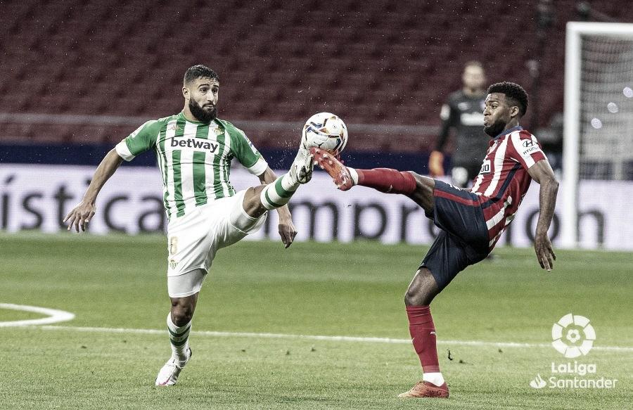 Fekir ante el Atlético | Foto: Laliga Santander